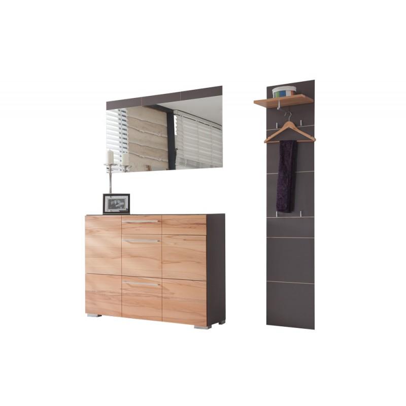Bienenm hle garderobe aveo set7 barhocker direkt for Garderobe individuell